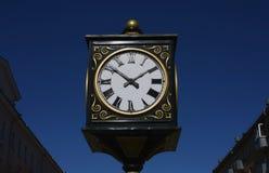 Часы городка Стоковые Фото