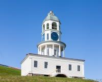 Часы городка Halifax Стоковое Изображение