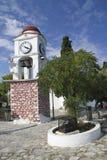 Часы городка Skiathos стоковые изображения