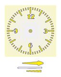 Часы головоломки Стоковое Изображение RF