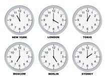 часы дела Стоковое Изображение