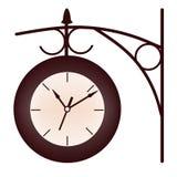 Часы железнодорожного вокзала Стоковое Изображение RF