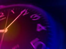 часы закрынные вверх Стоковое фото RF