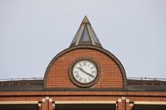 часы здания Стоковые Фото