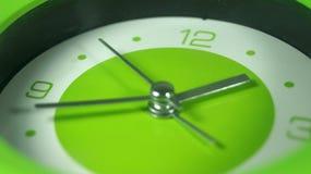 Часы зеленого цвета запаса изображения Стоковое Фото