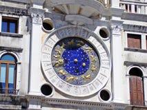 Часы зодиака стоковое изображение