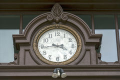 Часы 02 здания суда Walla Walla Washington County Стоковое Фото