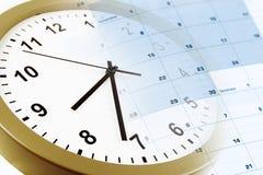 Часы и календар Стоковая Фотография RF
