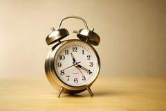 часы классики сигнала тревоги Стоковое Изображение