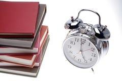 часы книг Стоковые Фотографии RF