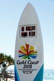 Часы комплекса предпусковых операций игр государства, Gold Coast Стоковая Фотография RF