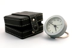 часы коробки ближайше стоковое фото rf