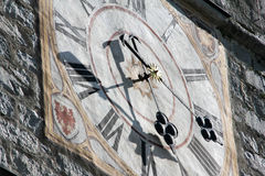 Часы колокольчика в Мюнхене, Баварии, Германии Стоковое Фото