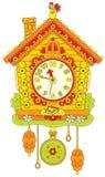 Часы кукушки Стоковое Изображение RF