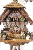 Часы кукушки Стоковая Фотография