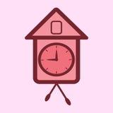 Часы кукушки Стоковая Фотография RF