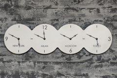 Часы мира стоковое фото rf
