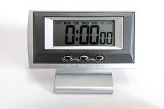 Часы настольного компьютера цифров Стоковые Фото