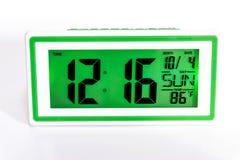 Часы настольного компьютера цифров Стоковые Изображения RF