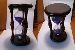 Часы на белой предпосылке Стоковое Изображение RF