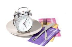 Часы на плите Стоковая Фотография RF