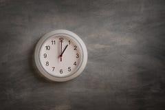 Часы на стене Стоковое фото RF