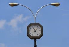 Часы на улице Стоковое фото RF