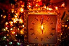 Часы Нового Года стоковое фото rf