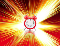 часы нул Стоковое Фото