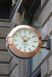 Часы омеги Стоковая Фотография
