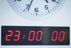 Часы операционной больницы Стоковое Фото