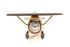 часы плоскости Стоковые Изображения RF