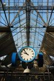 часы Поезд-станции стоковые фото