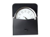 часы портфеля Стоковая Фотография RF