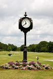 Часы поля для гольфа Стоковое фото RF