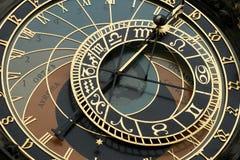 Часы Прага, старая городская площадь Стоковая Фотография RF