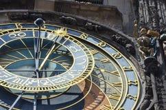Часы Праги, чехия стоковые фотографии rf