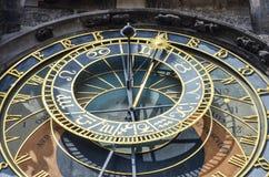 Часы Праги, чехия стоковые фото