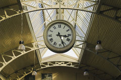 Часы публики смертной казни через повешение стоковое изображение rf