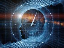 Часы разума Стоковое Фото