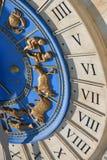 часы римские Стоковое Фото