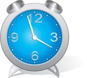 часы сини сигнала тревоги иллюстрация вектора
