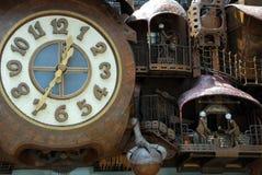 Часы сказки стоковые изображения