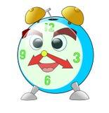 часы смешные иллюстрация вектора