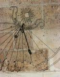 часы солнечные Стоковое Изображение