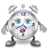часы сонные Стоковые Фото