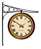 Часы станции иллюстрация вектора