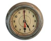 часы старого корабля Стоковые Фото