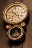 Часы стены год сбора винограда Стоковая Фотография RF