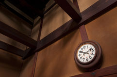 Часы стены год сбора винограда Стоковые Изображения